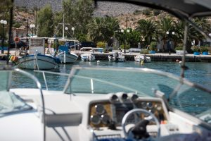 Boat Trips in Vouliagmeni Lake Greece